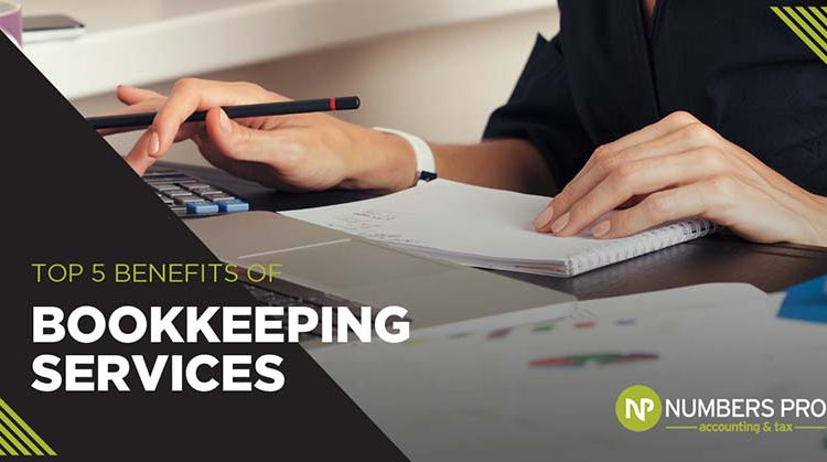 Top 5 Benefits of Bookkeeping Services