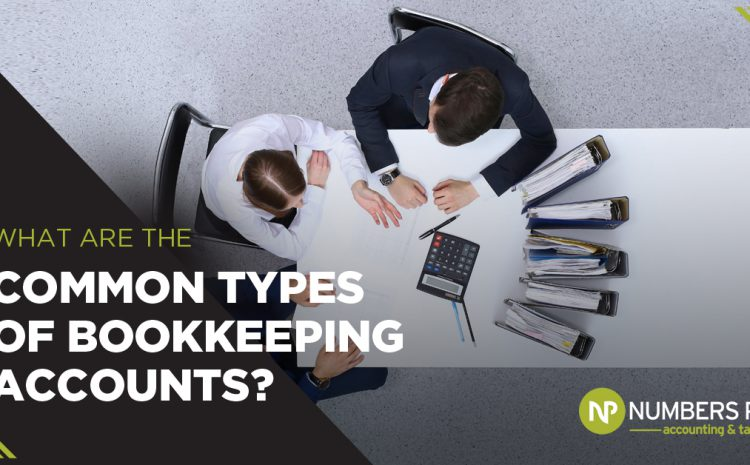 What are the Common Types of Bookkeeping Accounts?